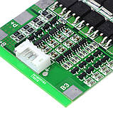 Контроллер заряда/разряда BMS 4S 30A 16,8V (балансир) Li-Ion 18650 + провод, фото 7