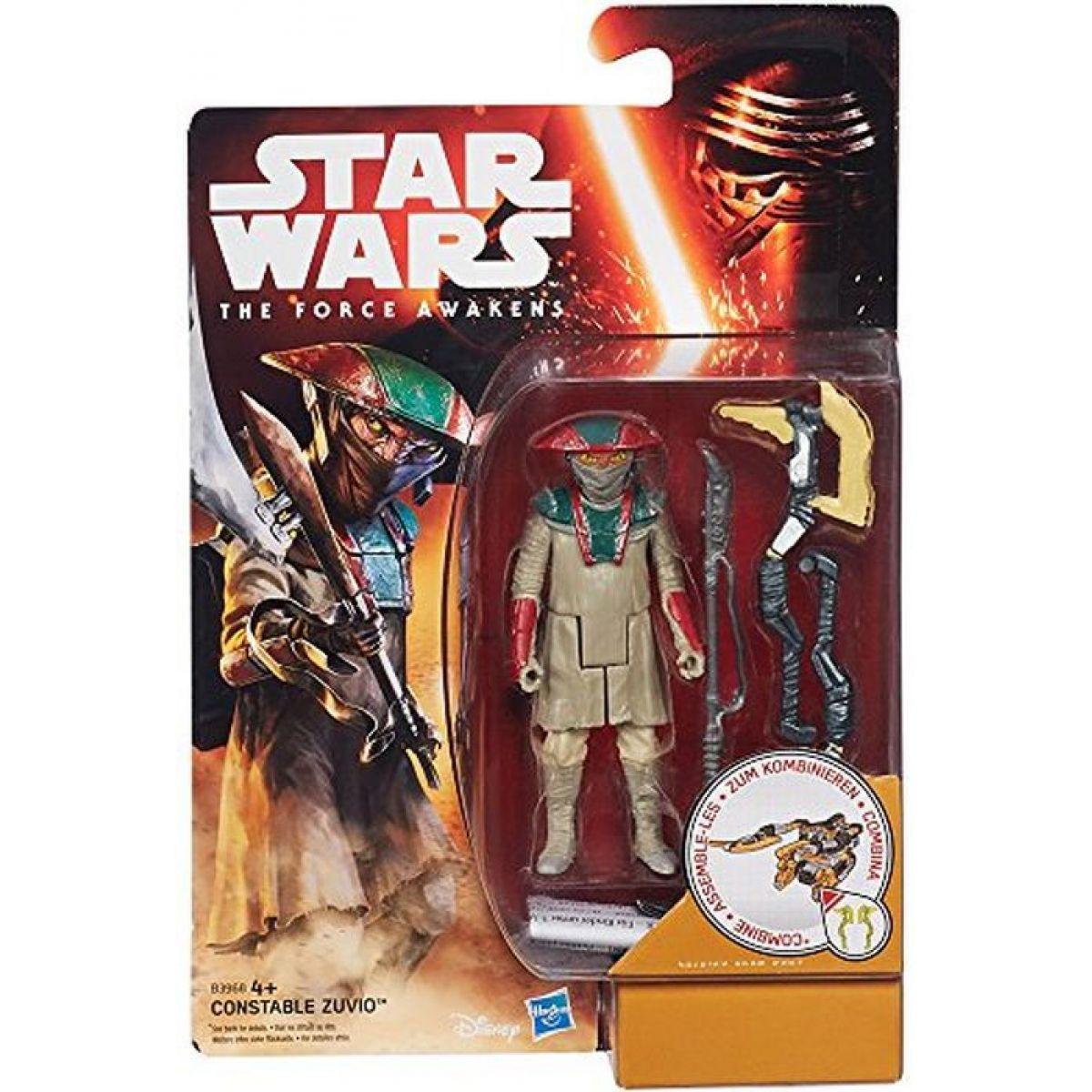 Звездные войны Миссия в пустыне фигурка Констебль Зувио. Оригинал Hasbro B3968/B3963