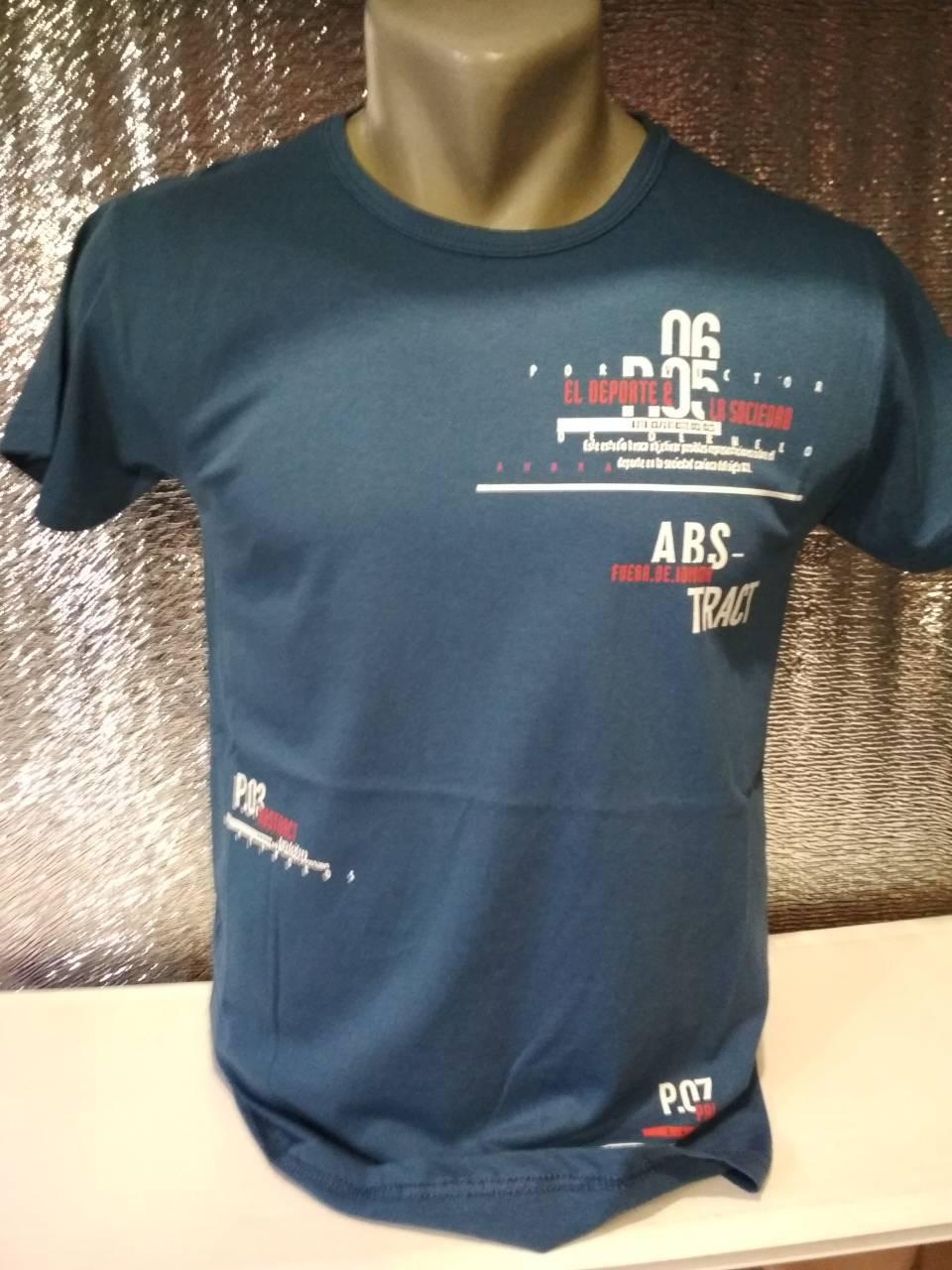 "Мужская футболка ""06"" Турция опт р. M, L, XL, XXL"