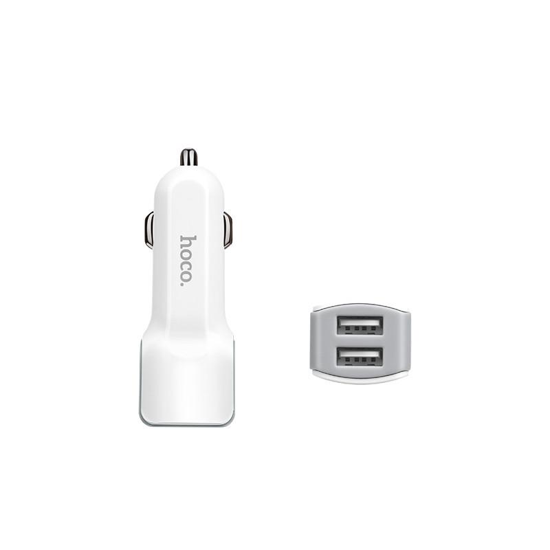 Зарядное устройство Hoco Z 23 + кабель Lighting, фото 1