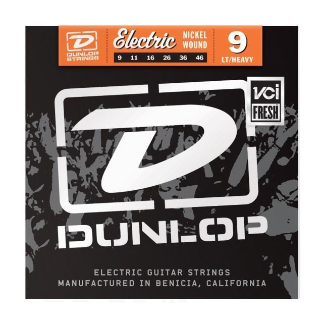 Струни Dunlop для електрогітари DEN0946 Nickel Plated Steel Light (009-046)