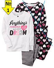 Пижама Carter's (№1), размер 4Т (98-105см)