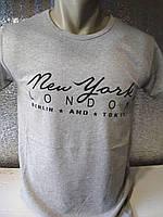 """Мужская футболка """"TOKIO"""" Турция опт р. M, L, XL, XXL"""