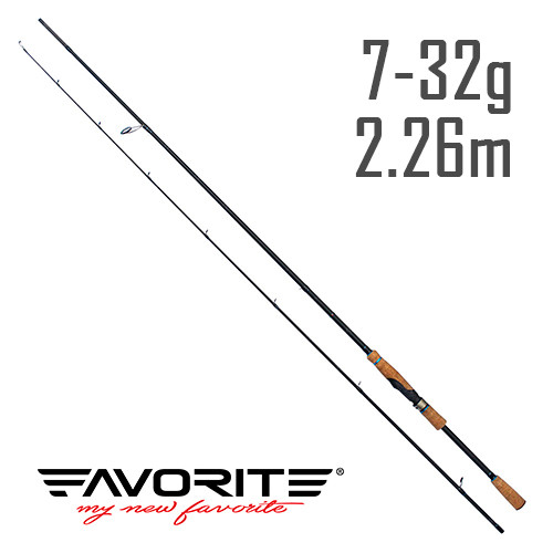Спиннинг Favorite Neo Breeze BRS-762M 2.26m 7-32g Ex-Fast