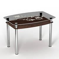 """Скляний стіл """"Шоколад"""" ТМ Sentenzo"""