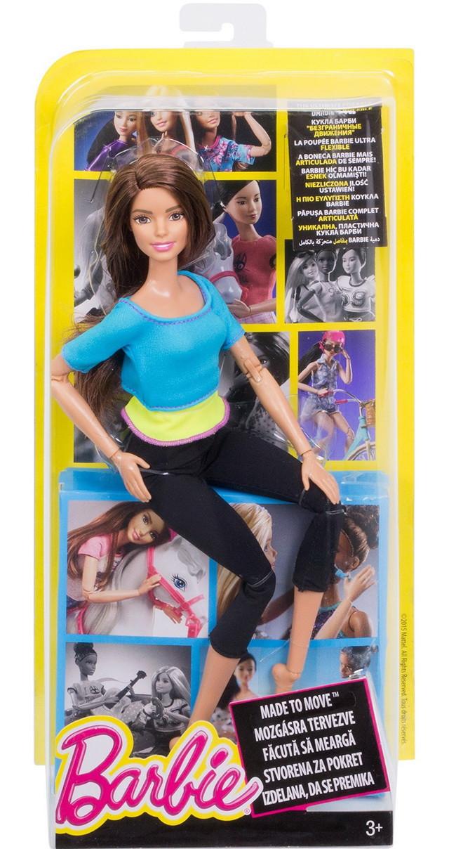 кукла барби безграничные движения фитнес