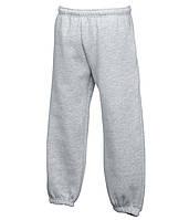 Спортивные брюки Fruit of the Loom Cl. el. cuff jog pants 116 94 Серо-Лиловый (064051094116)
