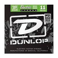 Струны для электрогитары  Dunlop DEN1150 Nickel Plated Medium/Heavy (011-050)