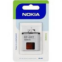 Аккумуляторная батарея Nokia BP-6MT (оригинал). Аксессуары для мобильных телефонов.АКБ.