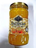 """Апельсин перетёртый с сахаром в стекле ТМ """"SONTY"""" 400 гр"""