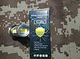 Лампа фары головного света диодная 12V LED-33 с линзой (P15D), фото 2