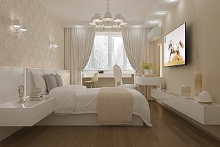 Дизайн спальни Silver rains 3, фото 3