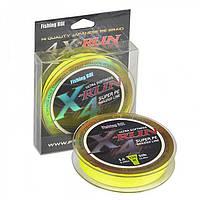 Шнур Fishing ROI X-Run Braid 4PE 150м 0,09 мм 2.27 кг колір-Lemon Yellow
