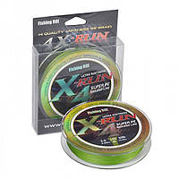Шнур Fishing ROI X-Run Braid 4PE 150м 0,09мм  2.27кг цвет-Olive Green