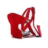 Сумка-кенгуру SUNROZ YEBD-2 Baby Carrier рюкзак для переноски ребенка Красный SUN0979, КОД: 146377