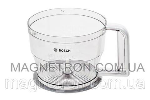Чаша измельчителя для блендера Bosch 1250мл 703353
