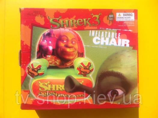 Кресло надувное Disney Шрек,Принцессы,Губка Боб,Винкс,Динь,Спайдер