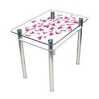 """Стеклянный стол """"Простор"""" ТМ Sentenzo, фото 1"""