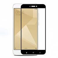 Защитное стекло Full glue (5D) Xiaomi Redmi 4X (Black)