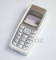 Корпус для Nokia 1110, 1110i, 1112 белый с клавиатурой class AAA