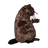 Игрушка для собак Trixie Бобёр с пищалкой 27 см (плюш)
