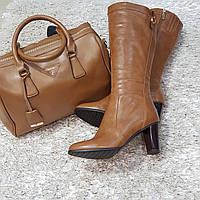 Сапоги женские осень каблук в Украине. Сравнить цены bbe524cad10fe