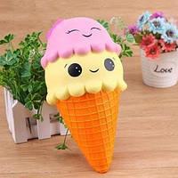Большая игрушка сквиши антистресс , сквиш мороженое с ароматом