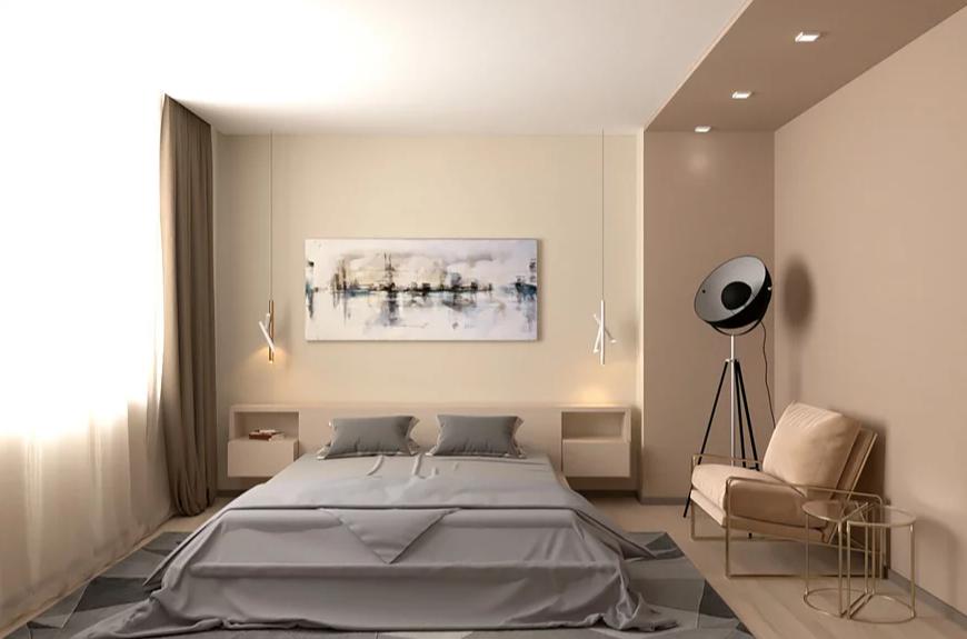 Дизайн спальни Мосса 02