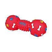 Игрушка для собак Trixie Гантель с пищалкой 19 см (винил, цвета в ассортименте)