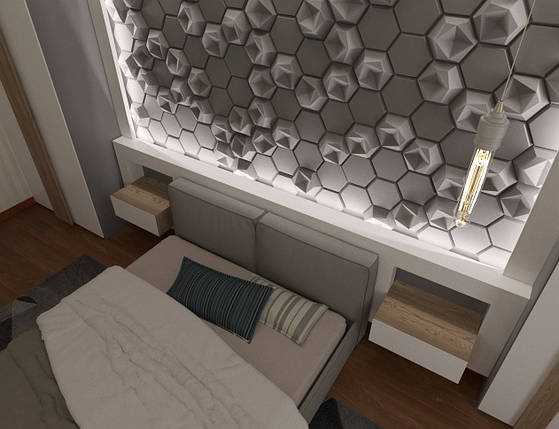 Дизайн спальни 009, фото 2