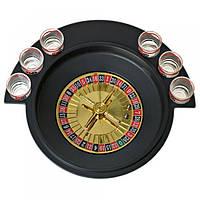 Игра в подарок — Алко-игра Рулетка (пьяная Рулетка) на 6 рюмок, фото 1
