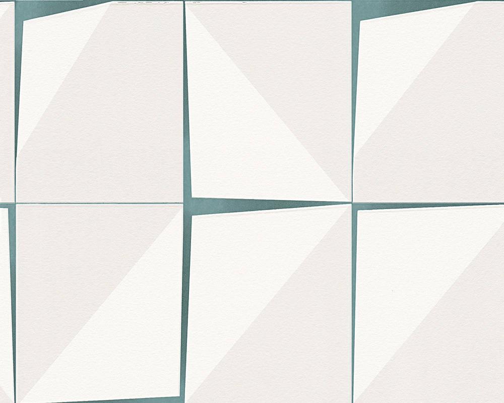 Обои с абстрактным 3д узором в виде неровных серых квадратов 957581