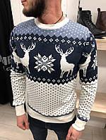 Теплый свитер с оленями в Украине. Сравнить цены fac02977949a1