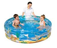 """Детский надувной бассейн BestWay 51045 """"Океанская жизнь"""""""
