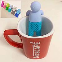 Чайное ситечко Mr. Tea (Заварник силиконовый Мистер Ти)