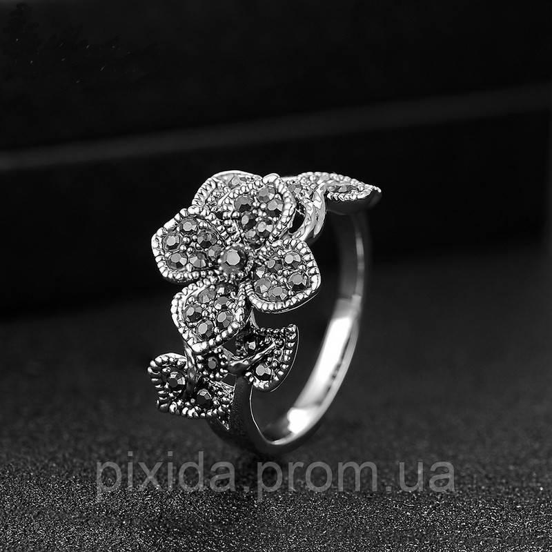 Кольцо цветок винтаж