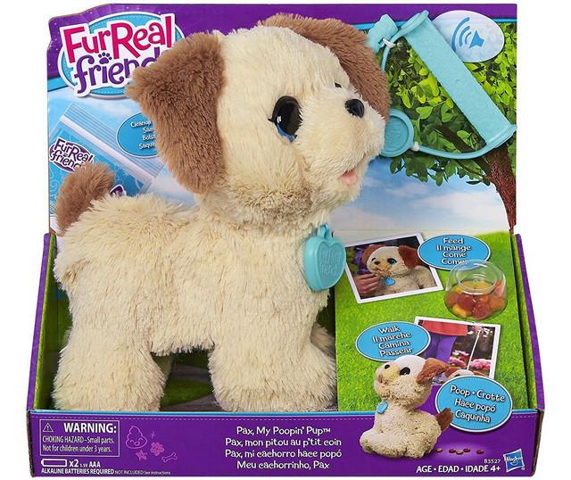 интерактивная игрушка собака hasbro furreal friends щенок пакс