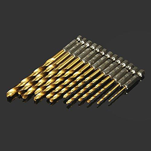 Drillpro DB-T2 набір з 13 біт 1.5-6.5 мм Шестигранний хвостовик 1/4