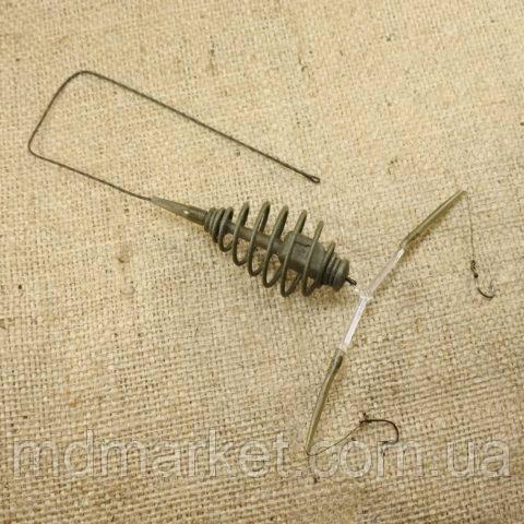 МОНТАЖ №27 - Оснастка для ловли карпа на лидкоре