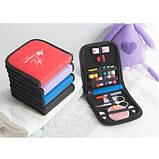 Дорожный набор для шитья Packing Travel, фиолетовый, фото 5