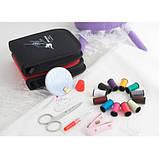 Дорожный набор для шитья Packing Travel, фиолетовый, фото 4