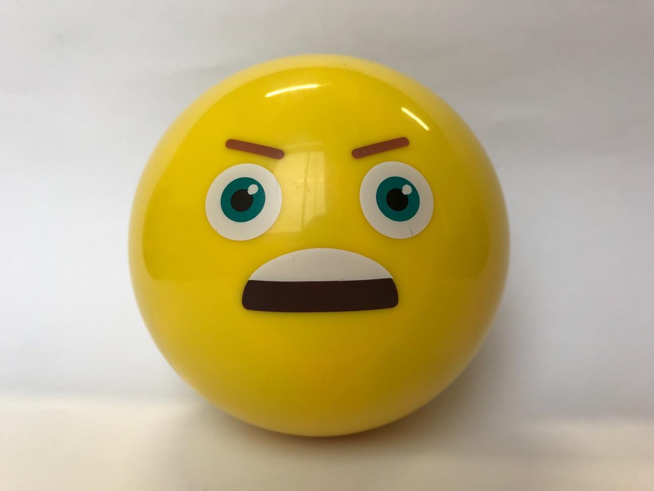 Магический Шар предсказатель принятия решений 10х10 см (шар восьмерка) желтый Смайлик