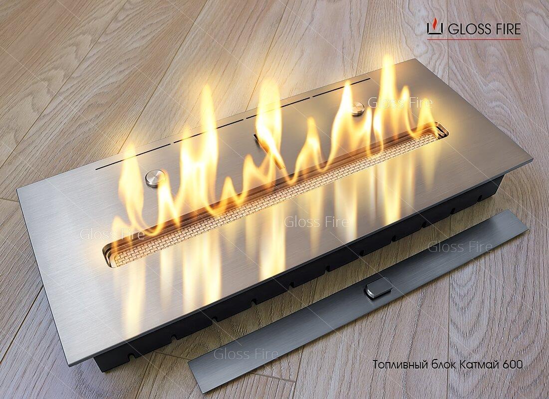 Выбор топливного блока Gloss Fire
