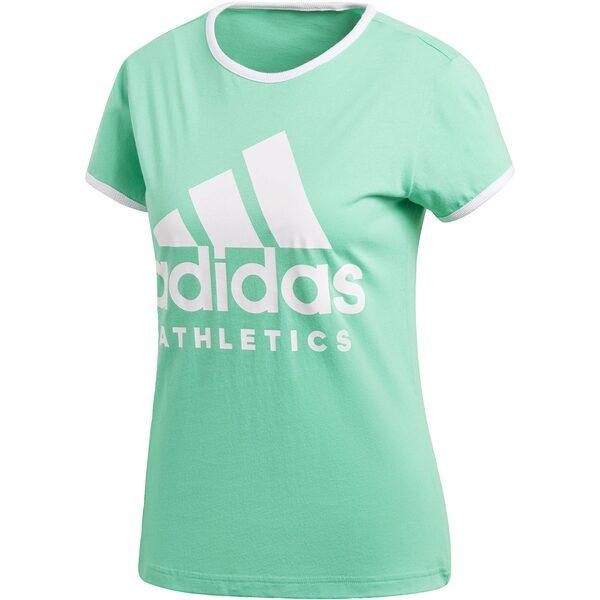 Женская футболка Adidas SID Slim Tee HI-RES GREEN S18 (CD7790)