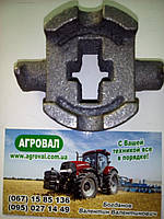 Вкладыш СЗГ 00.144 (СЗ) штанги навески сошников (сухарь), фото 1