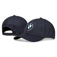 Оригинальная бейсболка унисекс BMW Logo Cap, Dark Blue (80162454620)