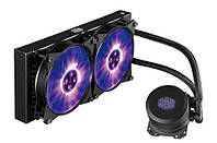 Система водяного охлаждения Cooler Master MasterLiquid ML240L RGB (MLW-D24M-A20PC-R1), фото 1