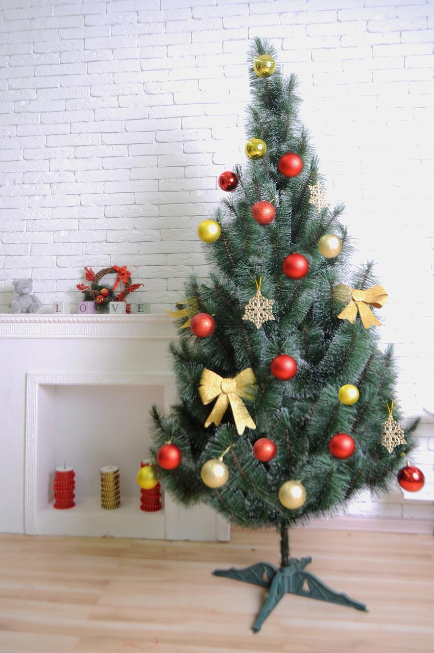 Искусственная сосна 230 см, сосны искусственные, новогодняя елка, сосна заснеженная