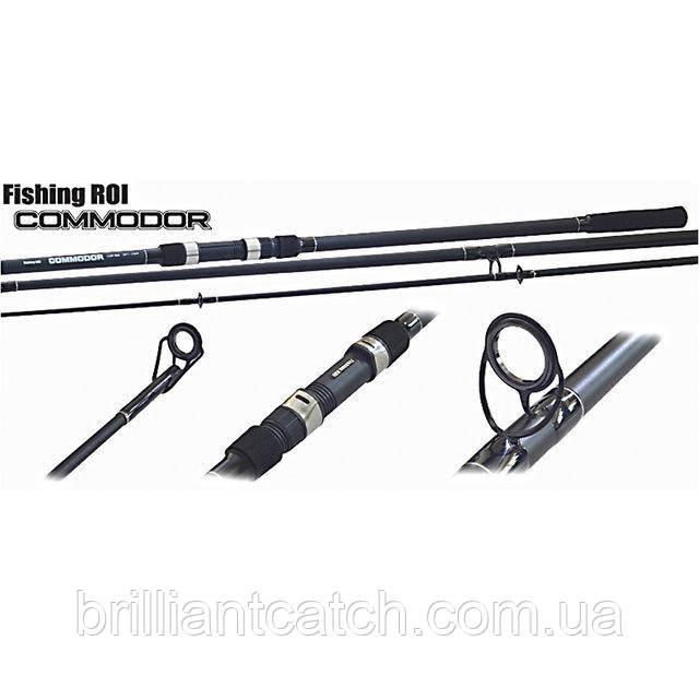 Карповик Fishing Roi Commodor Carp Rod 3.90м 3.5Lb  3-секционный
