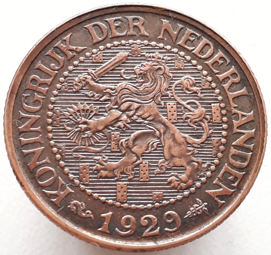 Нидерланды 2½ цента 1929